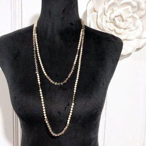 LOFT • Antique Pearl & Bead Long Necklace